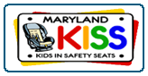 Maryland Kids in Safety Seats (KISS) Logo