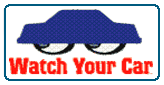 Watch Your Car Logo