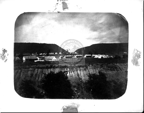 Soldier Camp During the Civil War
