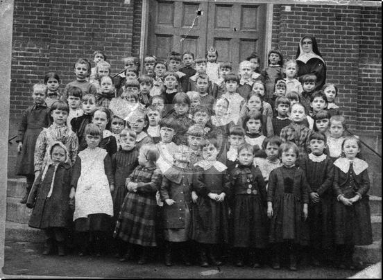 School Picture From Early 1900s