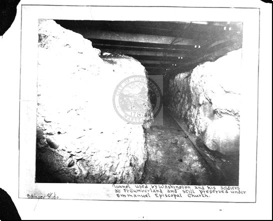 Tunnel Used by Washington