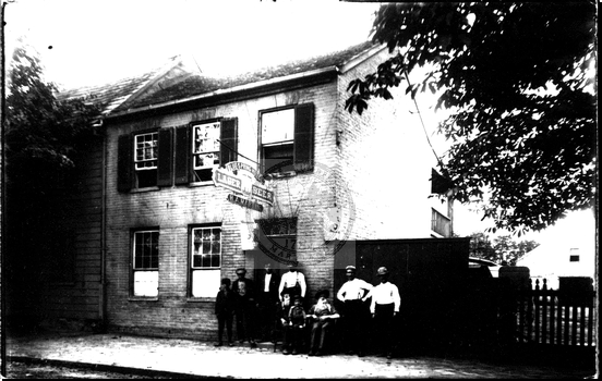 Tavern Razed in 1911