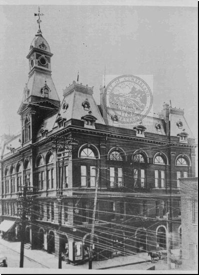 Old City Hall Before Fire