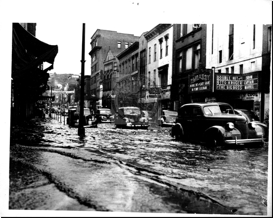 Flooded Baltimore Street