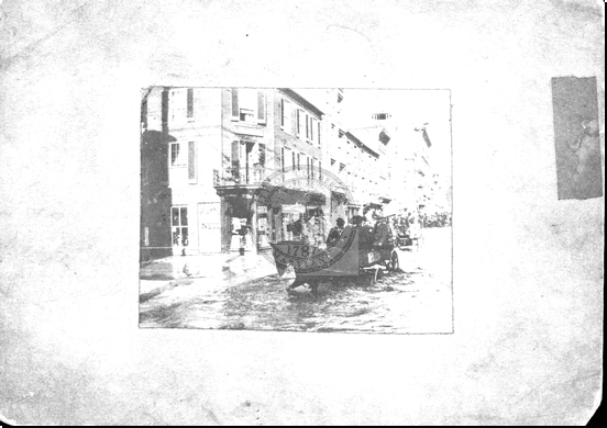 Flood 1902, Baltimore and North Liberty Streets
