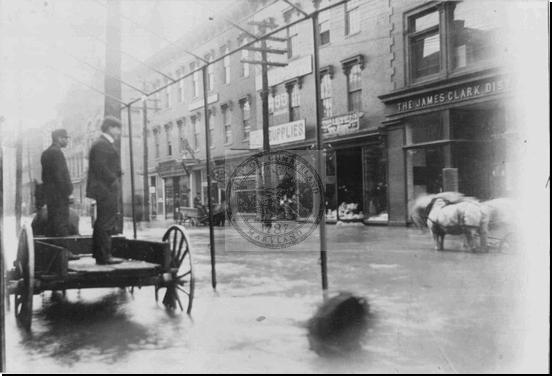 Baltimore Street Flood