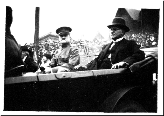General Pershing and Mayor Thomas Koon