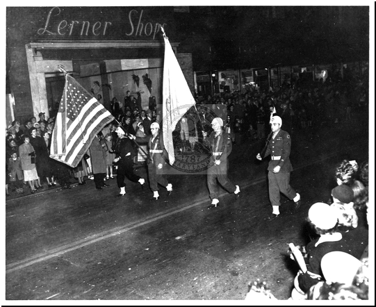 Parade Flag Carriers
