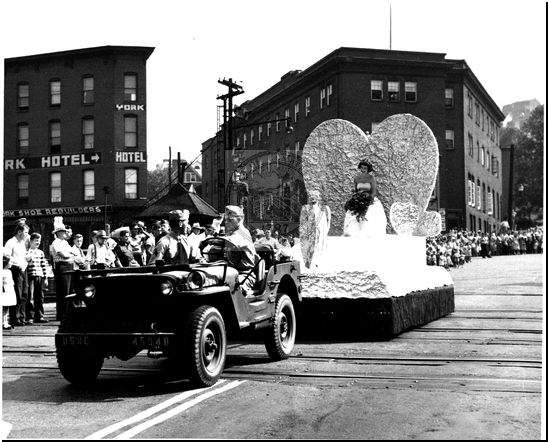 Float Being Driven in a Parade