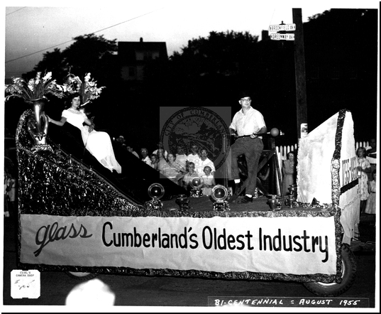 Bicentennial Parade Float Promoting