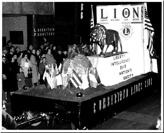 LIONS Parade Float