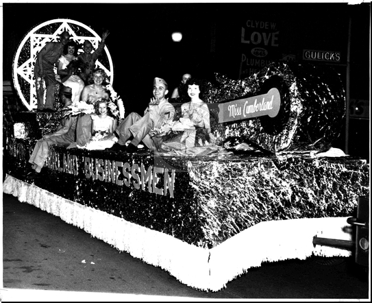 The Miss Cumberland Float