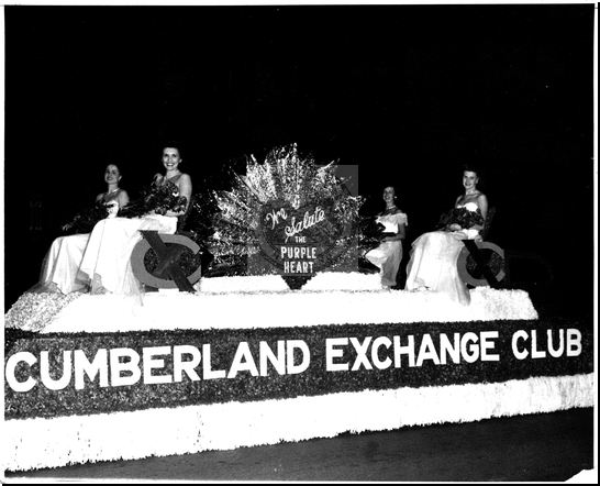 Cumberland Exchange Club Float