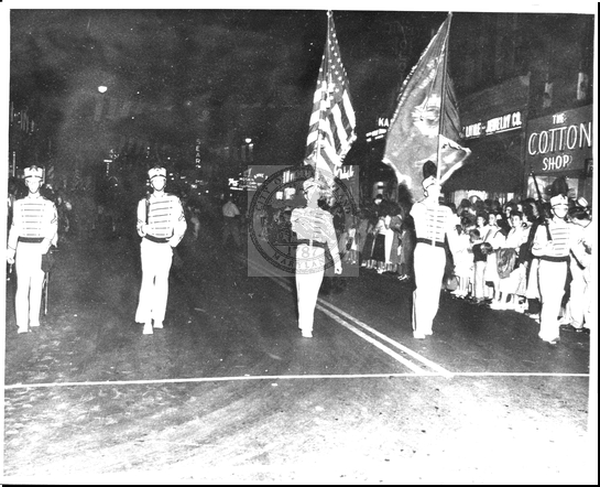 Flag Bearers Parade on Baltimore Street