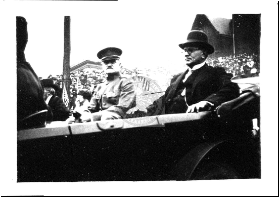 General Pershing and Mayor Koon in a Parade